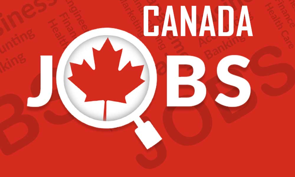 Job openings in Canada
